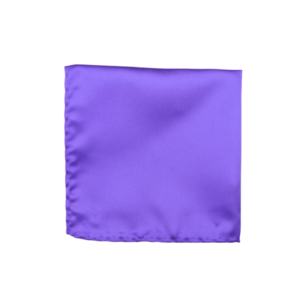 Colour Basis Solid Pocket Square