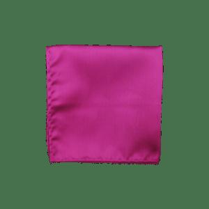 Colour Basis Fuchsia Solid Pocket Square