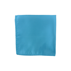 Colour Basis Turquoise Pocket Square
