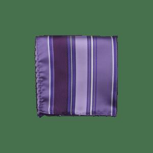 Colour Basis Stripe Pocket Square
