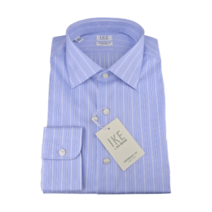 Ike Behar Striped Shirt