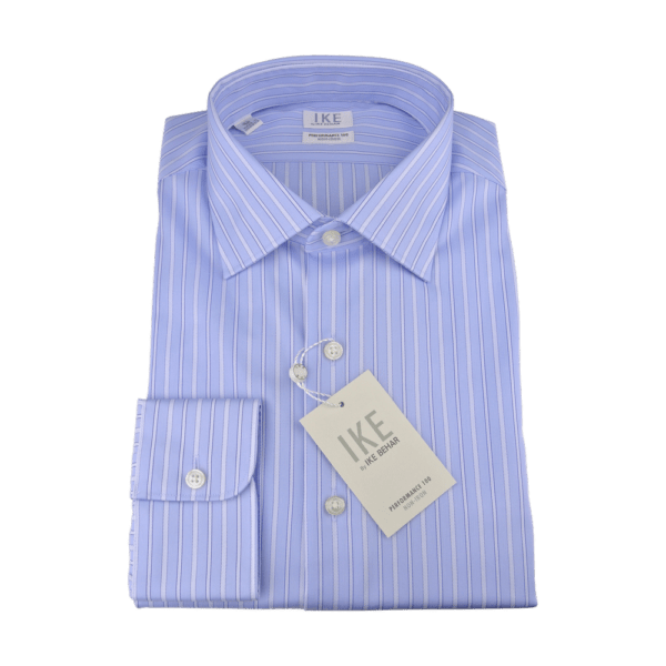 Ike Behar Striped Shirt