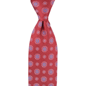 Colour Basis with Flower Detail Tie