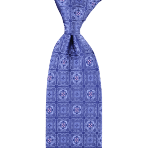 Colour Basis with Square and Flower Detail Tie