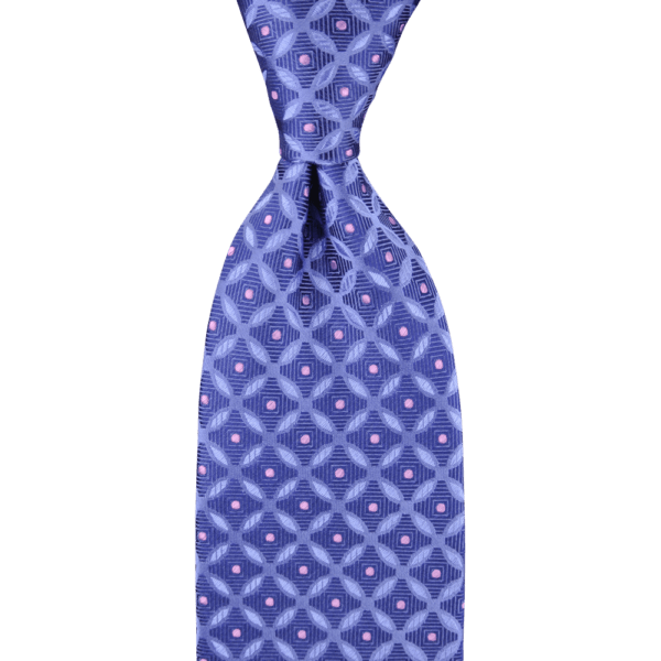 Colour Basis with Mini Pink Dots Tie