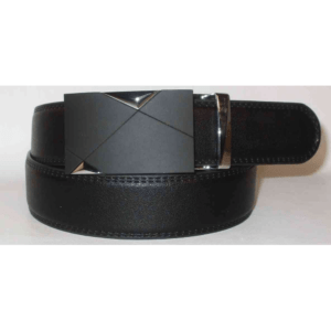 Men's Faux Leather Ratchet Belt