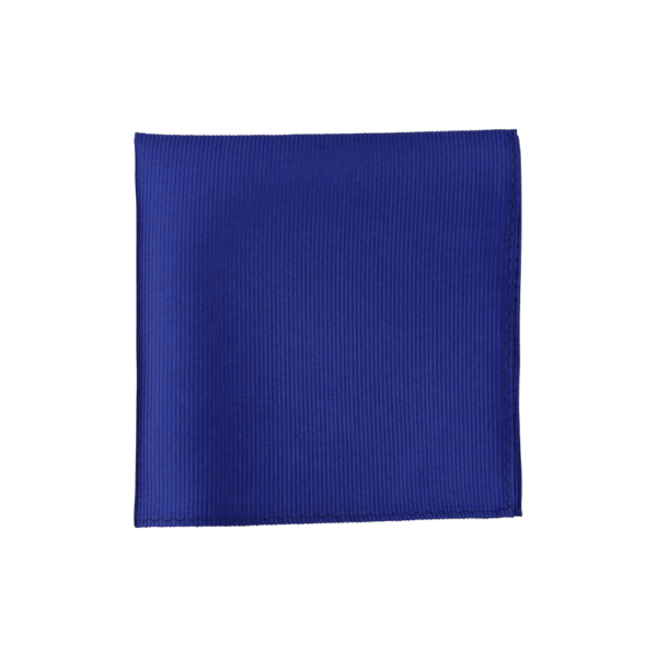 Colour Basis Royal With Tiny Stripes Pocket Square