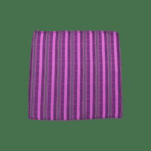 Colour Basis Detailed Stripe Pocket Square