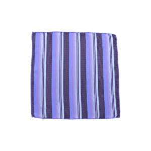 Colour Basis and Purple Stripe Pocket Square