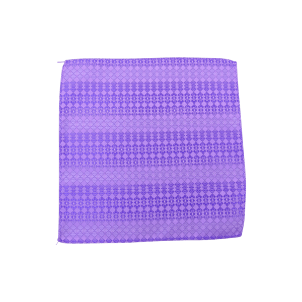 Colour Basis with Square Detail Pocket Square