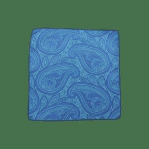 Colour Basis Paisley Pocket Square