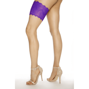 Girly Go Garter - Purple