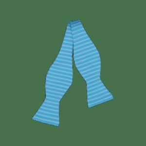 Ike Behar Turquoise Blue Bow Tie