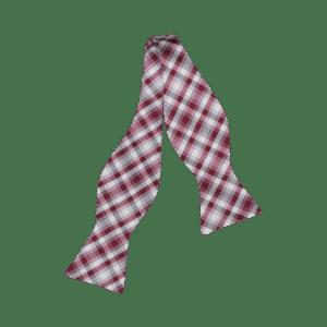 Ike Behar Tartan Plaid Bow Tie