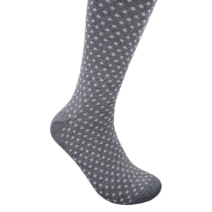 Geoff Nicholson Charcoal with Pink Dots Socks