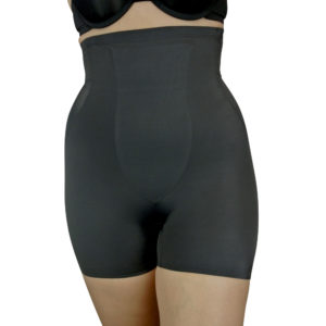 Black TC Moderate Control Hi-Waist Boy Short Shaper