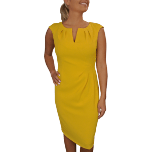 Marigold Sheath Dress