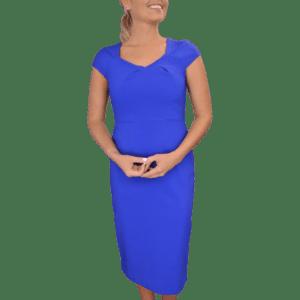 Linette Midi Empire Dress